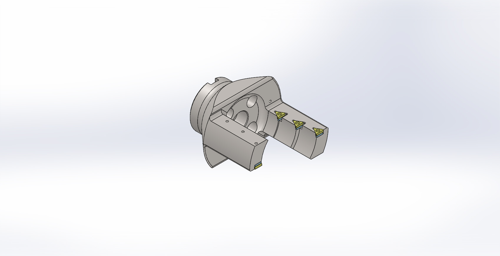 FRONT & ROUGH BORING CHAMFER TOOL